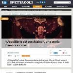 L'equilibrio del cucchiaino Repubblica.it Giugno 2015