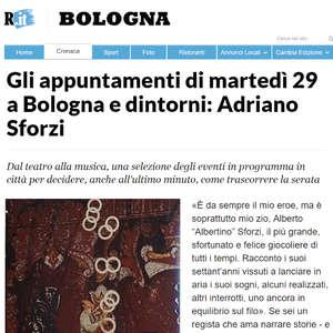 L' equilibrio del cucchiaino Repubblica Bologna Marzo 2016